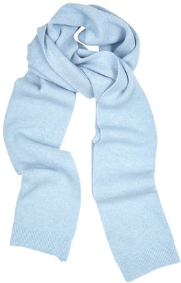 COLORFUL STANDARD Light Blue Merino Wool Scarf