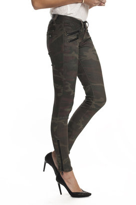 Rag and Bone Rag & Bone Leather Camouflage Jeans