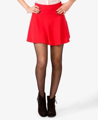 Forever 21 Woven A-Line Mini Skirt