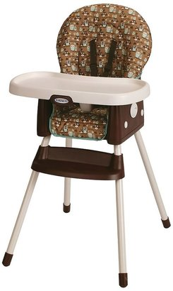 Graco simpleswitch high chair - little hoot