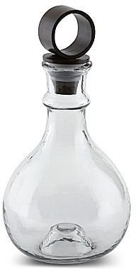JCPenney San Miguel Hammered Glass Decanter