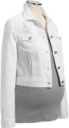 Old Navy Maternity Cropped Denim Jacket