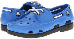 Crocs Beach Line Boat Shoe (Little Kid/Big Kid)