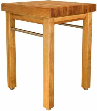 Catskill Craft French Country Butcher-Block Table