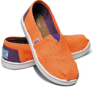Toms Orange Two-Tone Freetown Youth Classics