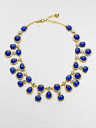 Kate Spade Moonlit Way Cabochon Collar Necklace