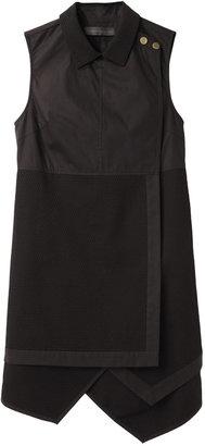 Proenza Schouler Sleeveless Asymmetrical Shirtdress