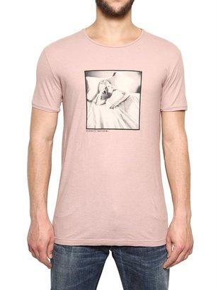 Dolce & Gabbana Marilyn Print Cotton Jersey T-Shirt