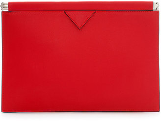 Zara Clutch With Flat Clasp Fastening