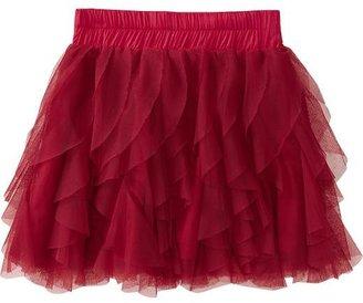 Old Navy Girls Ruffled Tulle Skirts