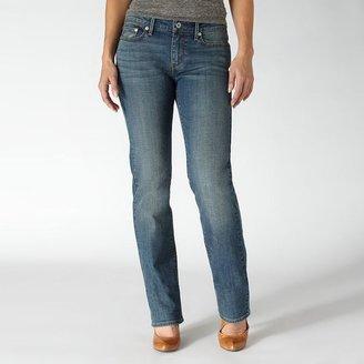 Levi's slight curve id straight-leg jeans