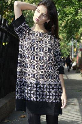 NU New York Floral Grid Dress