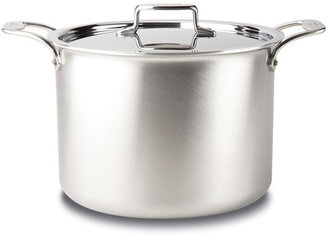 All-Clad d5 Brushed Stainless Steel Stockpot with Lid