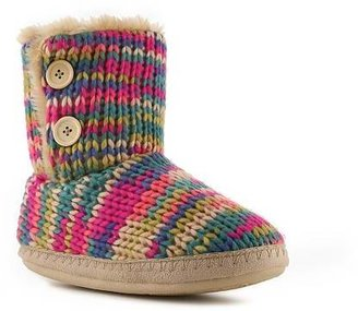 Steve Madden Multi Color Bootie Slipper