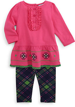 Hartstrings Infant's Floral Embroidered Tunic