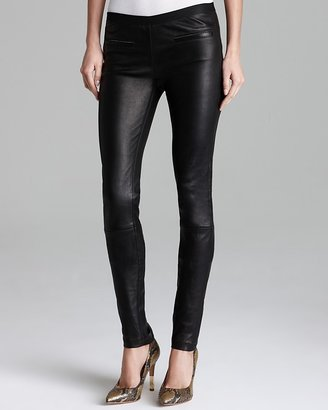 Milly Leggings - Leather