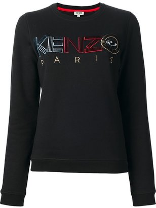 Kenzo 'Eye' embroidered sweater