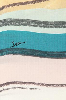 Issa Printed silk top