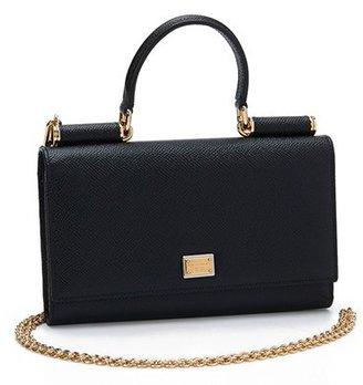Women's Dolce&gabbana Wallet On A Chain - Black $1,095 thestylecure.com