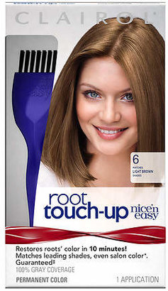Clairol Nice'n Easy Root Touch-Up Permanent Haircolor Light Brown 006