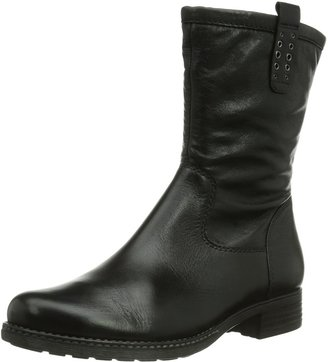 Gabor Shoes Womens Comfort Warm Lined Biker Boots Short Length Black Schwarz (Schwarz(Nickif.)) Size: 8.5 UK
