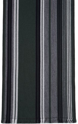 Brooks Brothers Double-Faced Merino Multi Stripe Scarf