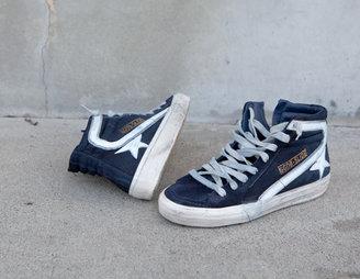 James Perse Golden Goose Women's Hi Top Slide Sneaker