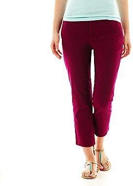 JCPenney jcpTM Cropped Pants
