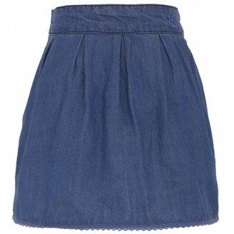 Paul & Joe Alliaria Chambray Skirt