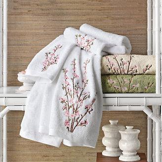 Gump's Peach Blossom Towels