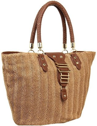 olivia + joy - Beach Babe Tote (Brown) - Bags and Luggage