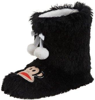 Paul Frank Women's Shaggy Boot With Pom Pom