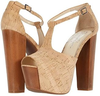 Jessica Simpson Dany (Brown) High Heels