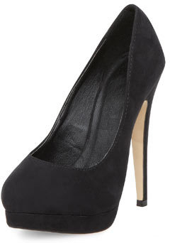Timeless shoes Timeless black platform court