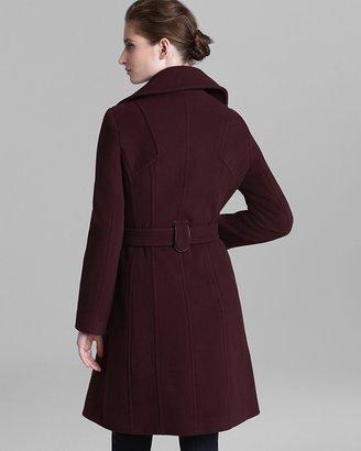 Marc New York Coat - Plush Belted