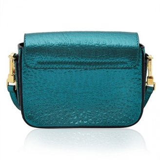 Burberry very good (VG Metallic Green Shoulder Bag