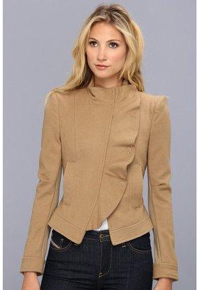 BCBGMAXAZRIA Jacket MRT8B562 (Heather Camel) - Apparel