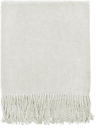 Nine Space Organic Cotton Throw Oatmeal