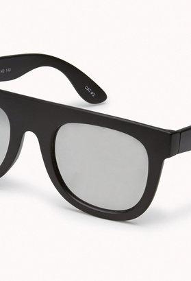 Forever 21 F9021 Mirror Lens Wayfarer Sunglasses