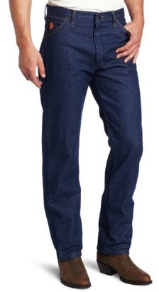 Wrangler Men's Tall Flame Resistant Relaxed Fit Jean
