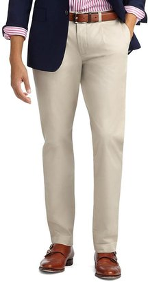 Brooks Brothers Pleat-Front Slim Pants