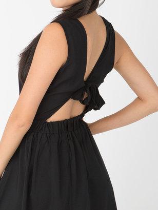 American Apparel California Select Originals Cut-Out School Girl Dress