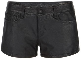 AllSaints Perry Leather Shorts