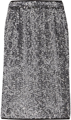 Karl Lagerfeld Sina sequined pencil skirt