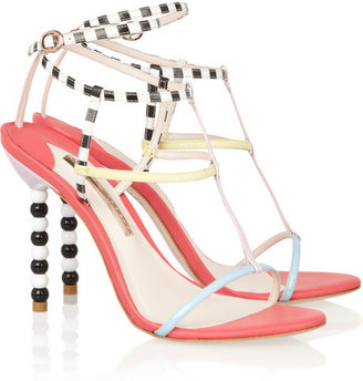 Webster Sophia Briar multi-strap leather sandals