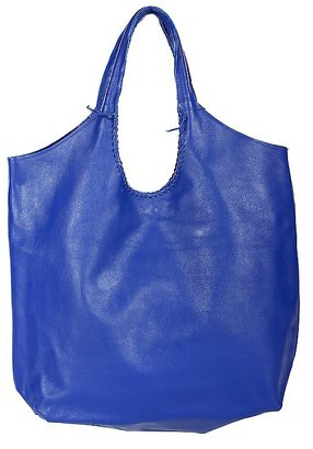 Jennifer Haley Large Sophisticated Shopper in Electric Blue