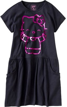 Hello Kitty Girls Graphic Jersey Dresses