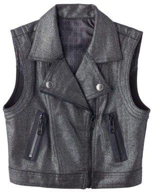 Harajuku Lovers Mini for Target® Girls Sweater Vest - Black/Silver
