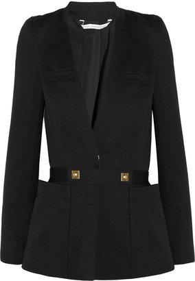 Diane von Furstenberg Sophomore belted twill jacket