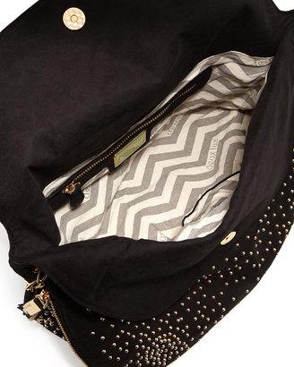 Deux Lux Atlantis Studded Shoulder Bag, Black